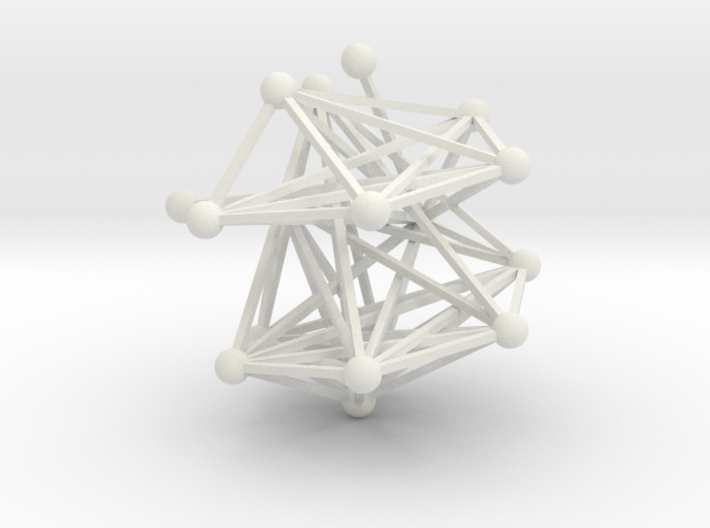 Dove Network 3d printed Only in white!