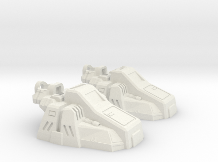 Calculating Giant's Slippers 3d printed