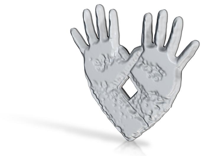 open hand open heart 3d printed
