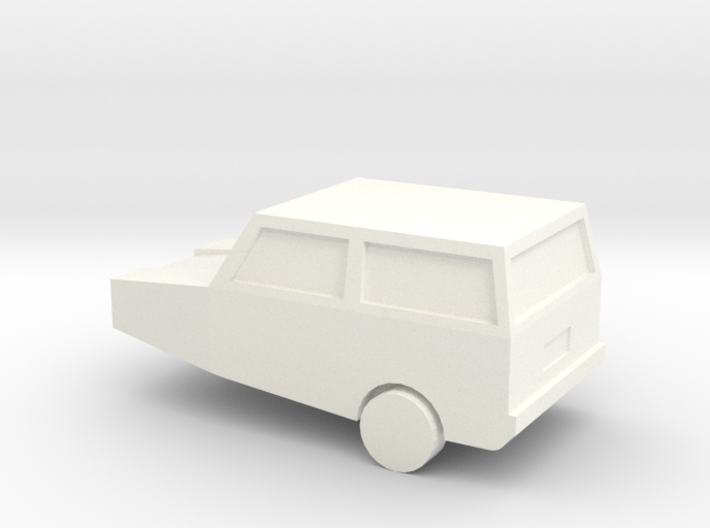 Robin Reliant - Quick and Easy - N Scale 3d printed