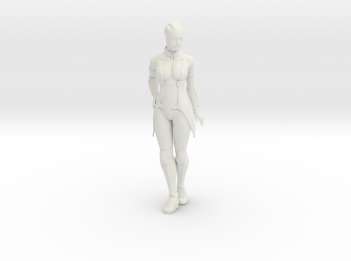 Liara T'Soni Statue 3d printed