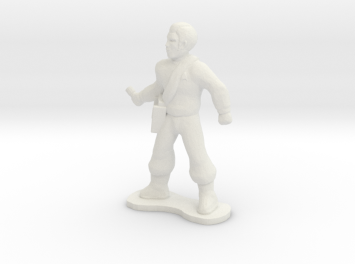 Science Officer 3d printed