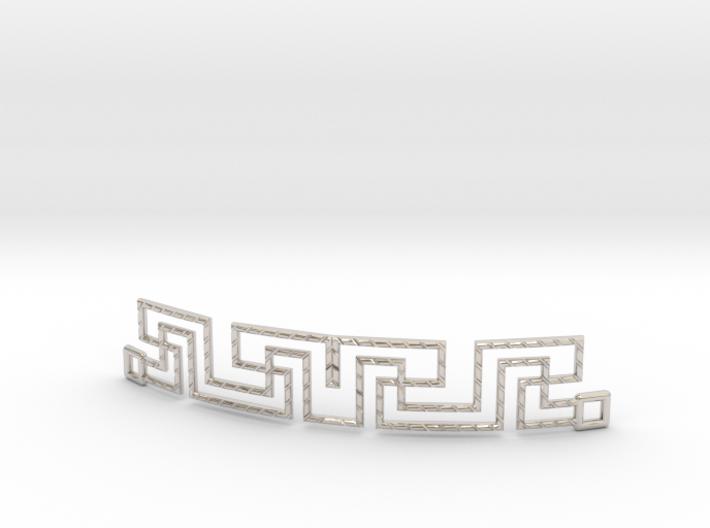 Urban Style Bracelet 3d printed