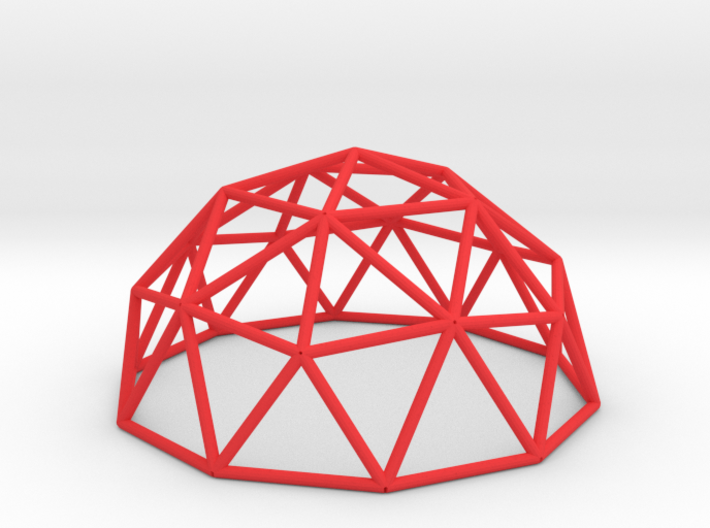 Geo Dome 3d printed