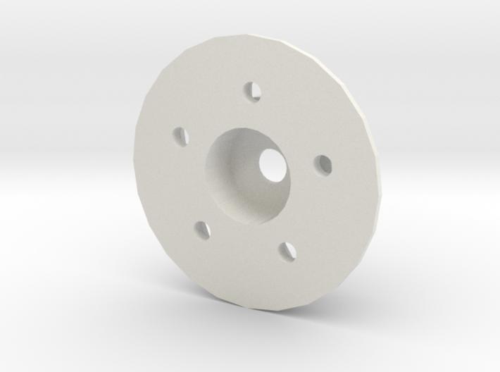 Rim adapter with disk brake Adventure D90 D110 Gel 3d printed