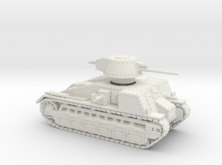 Vickers Medium Mk.C (1:100 scale) 3d printed