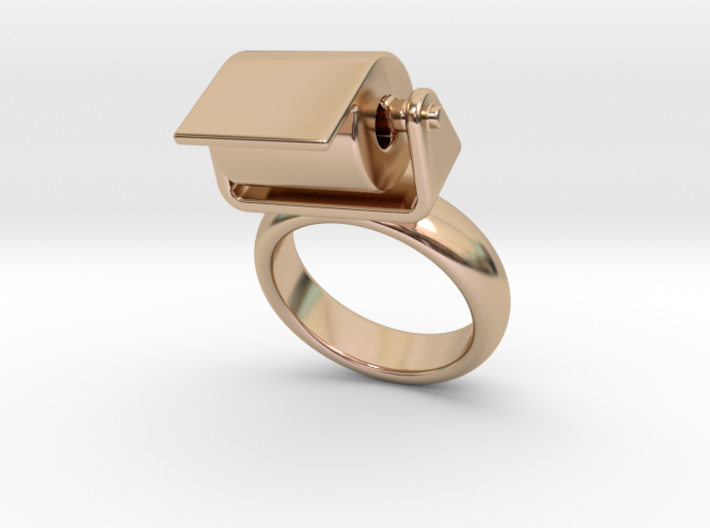 Toilet Paper Ring 19 - Italian Size 19 3d printed