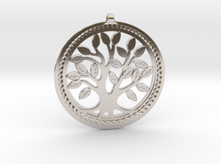DNA/Tree Of Life Pendant ~ 45mm 3d printed