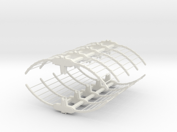 Romulan Drydock 3d printed