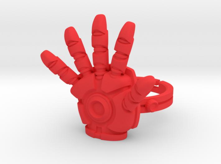 Iron Man Ring - 17.35mm - US Size 7 3d printed
