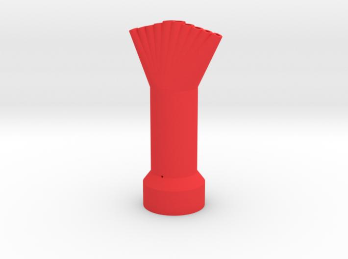 10 Mentos/Diet Soda Nozzle - 10 Spout, 5 Mentos 3d printed