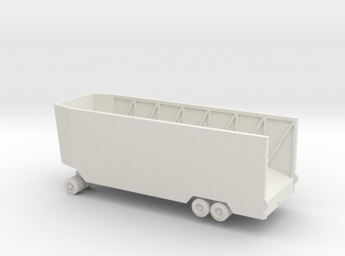 1/144 trailer for Landwasserschlepper 3d printed