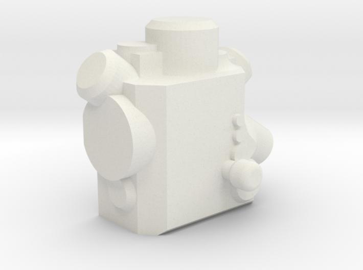 1:24 Mars Rover Mahli-apxs 3d printed