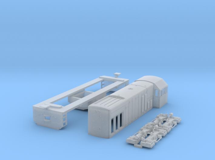 N scale U8b 3d printed