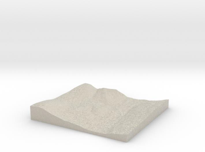 Model of Phelps Dam 3d printed