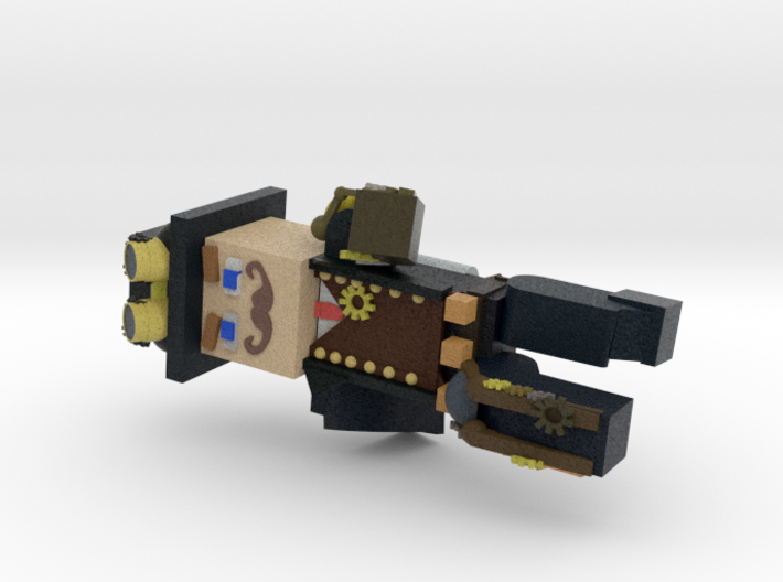 Multi Color Steampunk Minecraft 3d printed
