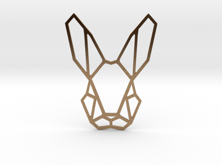 Mr. Rabbit Pendant 3d printed
