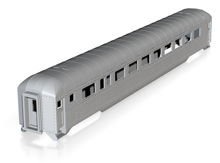 H0 Scale DRGW streamstyle coach 3d printed