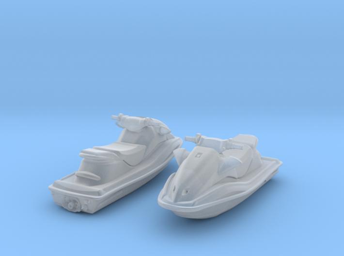 1-87 Generic Jet Ski Set 3d printed