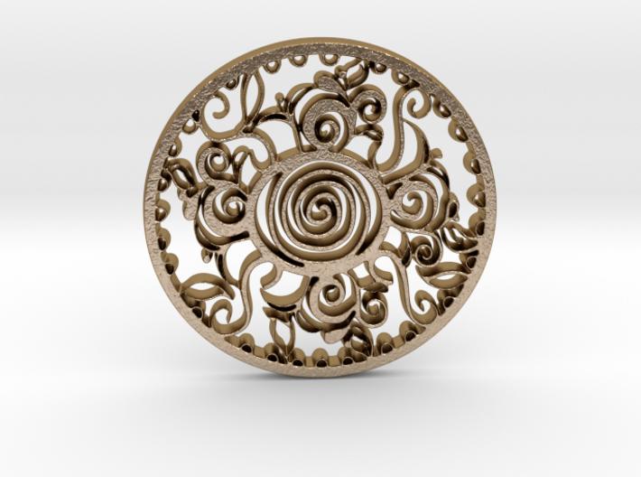 Anafractuous pendant 3d printed