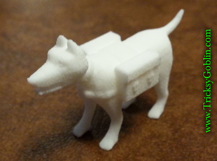 Adventuring Pack-Dog 3d printed