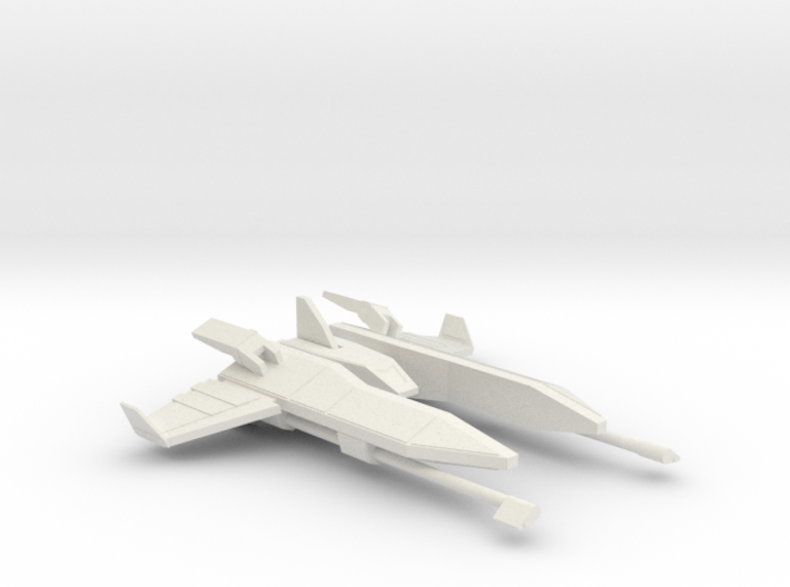 Fighter Ship 3d printed
