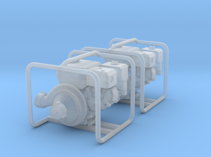1/64 scale portable pump 3d printed