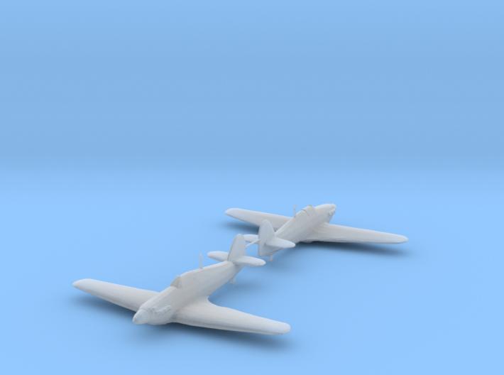 Hawker Hurricane Mk.IIa 1/200 x2 HDA 3d printed