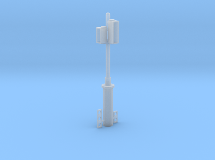 H0 1:87 Ampel/Trafficlight FGR beleuchtbar 3d printed