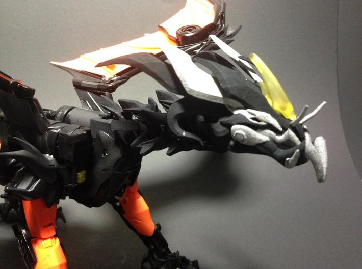 Ultimate TFP Beast King Head + Neck 3d printed excellent paint job by RedWingBotCreations