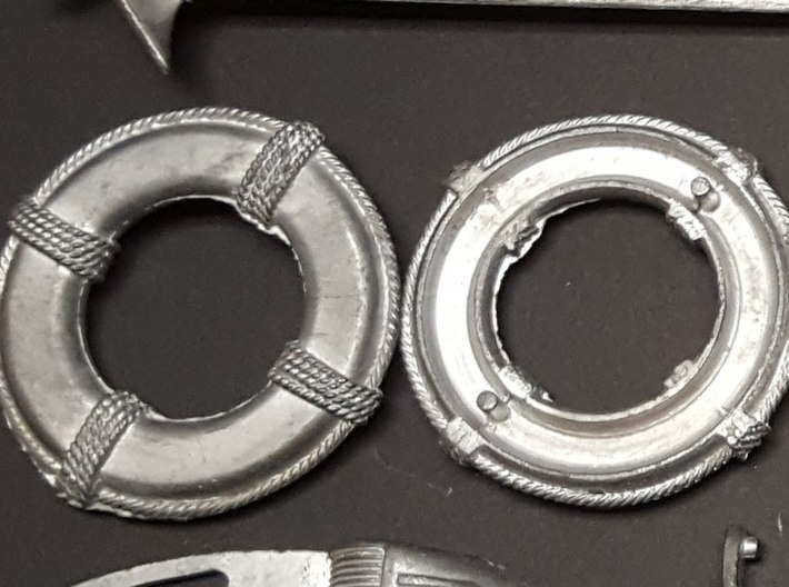 B15F Life Rings (Pair) 3d printed Original Sterling life rings