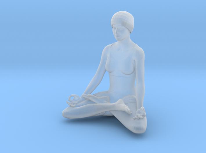 Lotus position (2.5 cm) 3d printed