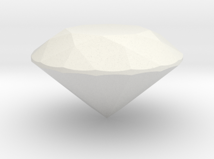 Perfect Proportion Diamond - Tolkowsky 3d printed