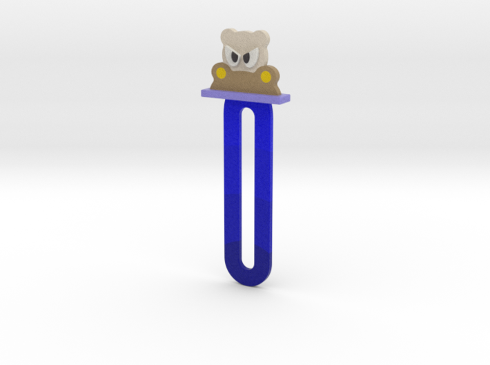 bookmark - S52 - angry#@!!! 3d printed