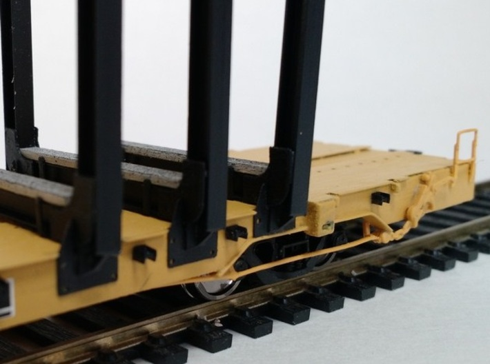 Jh-90-body-ho 3d printed detail of bunks (laser cut parts and strip polystyrene)