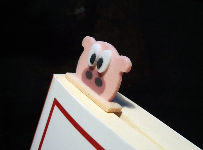 bookmark - S61 - thinking! 3d printed