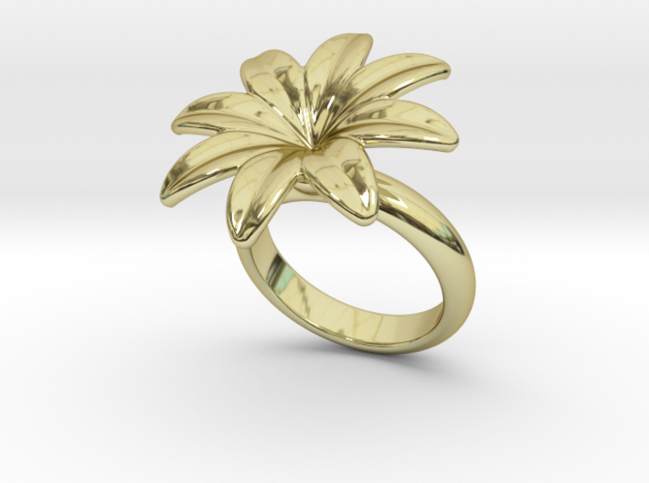 Flowerfantasy Ring 21 - Italian Size 21 3d printed