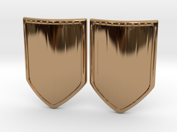 Shield 3 Earing 3d printed