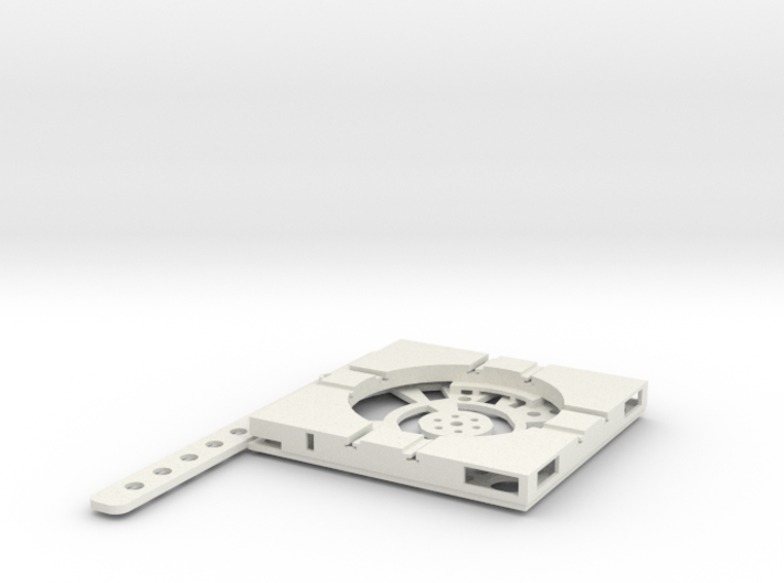T-14-wagon-turntable-48d-100-plus-base-flat-1a 3d printed
