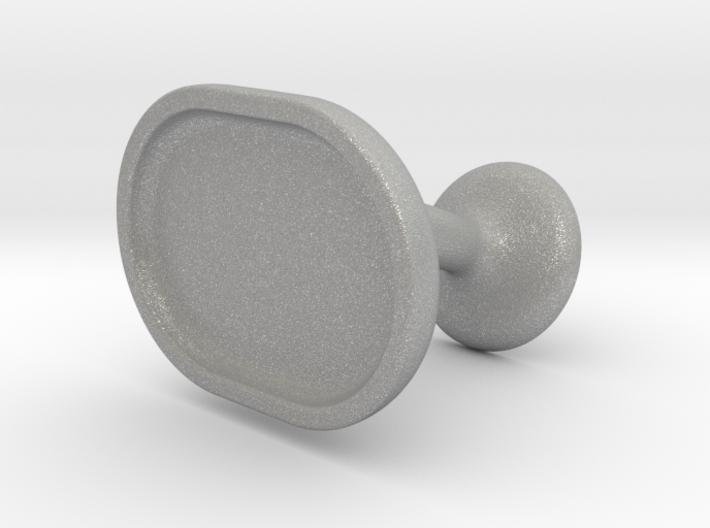 Custom Cufflink #03 - Oval 3d printed