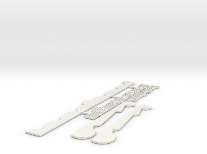 Majestic Musik Express Rook Scenery 3d printed