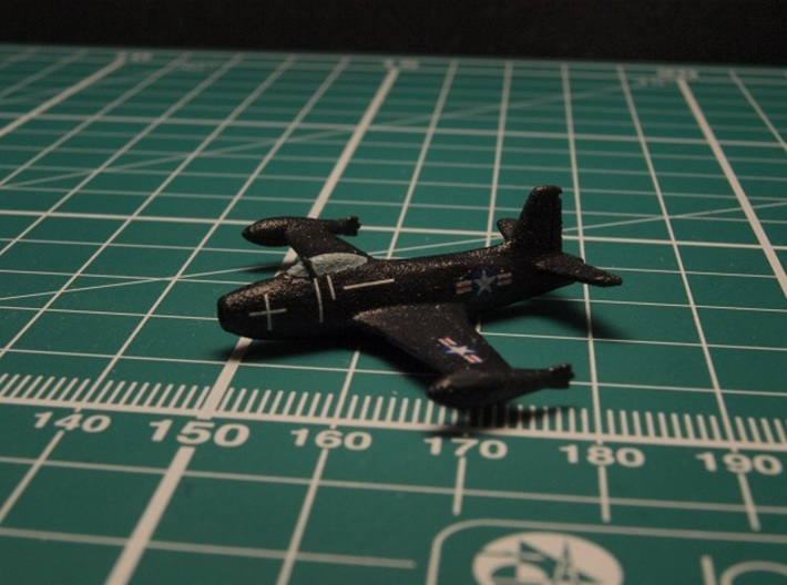 North American Aviation FJ-1 Fury (Pair) 1/285 6mm 3d printed