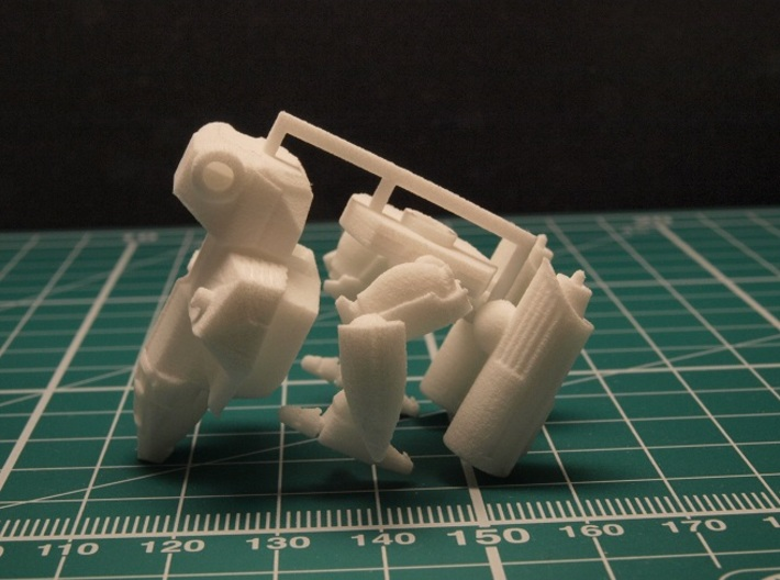 Defender Mecha 1/285 6mm 3d printed sprue
