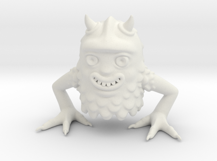 Forest monster 3d printed