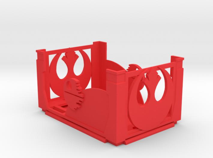 Damage Deck and Lid Rebel 3d printed