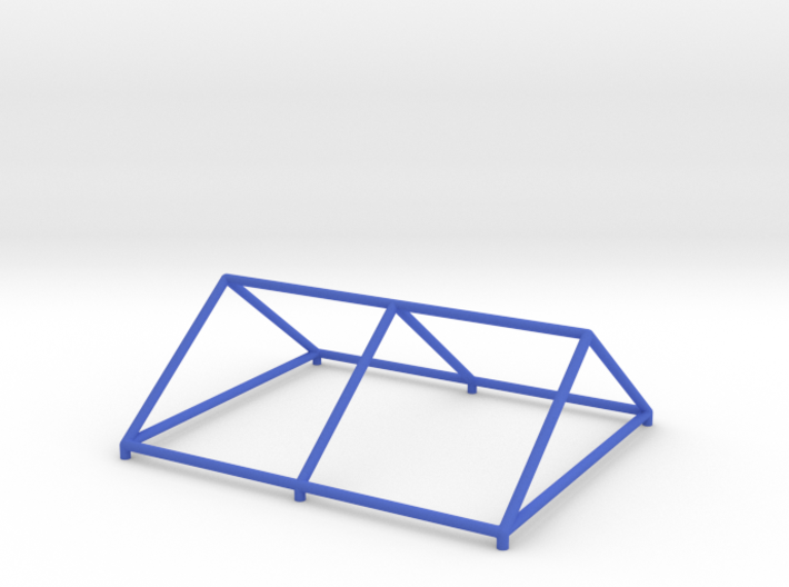 Tent Frame Roof Model 3d printed