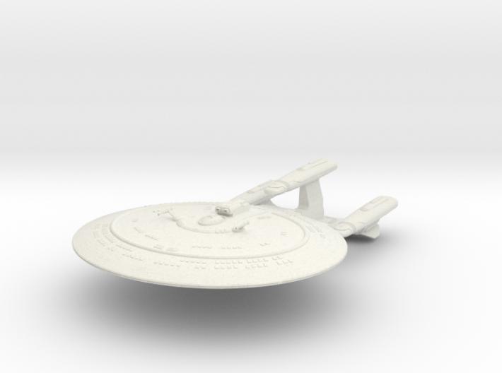 "Galaxy Dreadnought Class 3.6"" 3d printed"