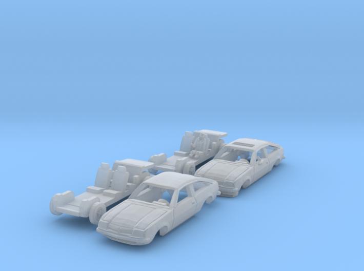 SET 2x Opel Manta CC (TT 1:120) 3d printed