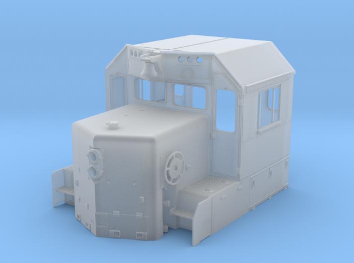 CN GP38-2 Spartan Cab, Rebuilt 1/87.1 3d printed