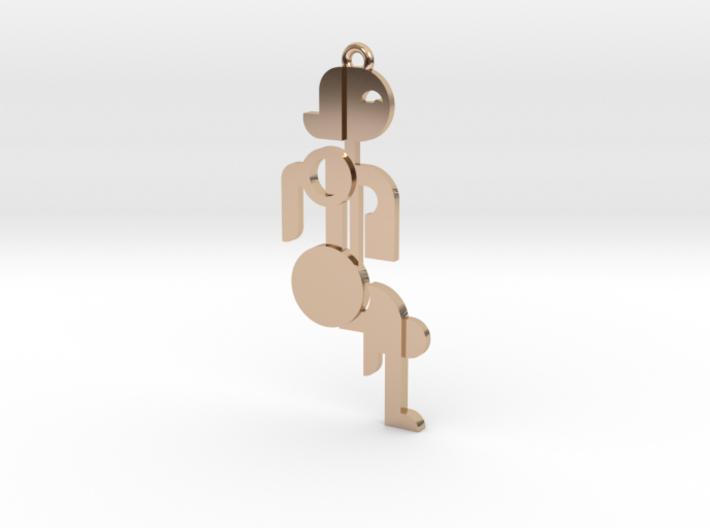 Bauhaus Lady 3d printed